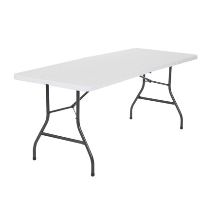 (Cosco 6 Foot Centerfold Folding Table, Multiple Colors)