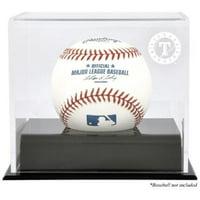 Texas Rangers Baseball Cube Logo Display Case