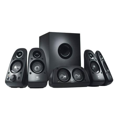 Refurbished Logitech Z506 6 Piece 5.1 Channel Surround Sound Speaker System - 980-000430
