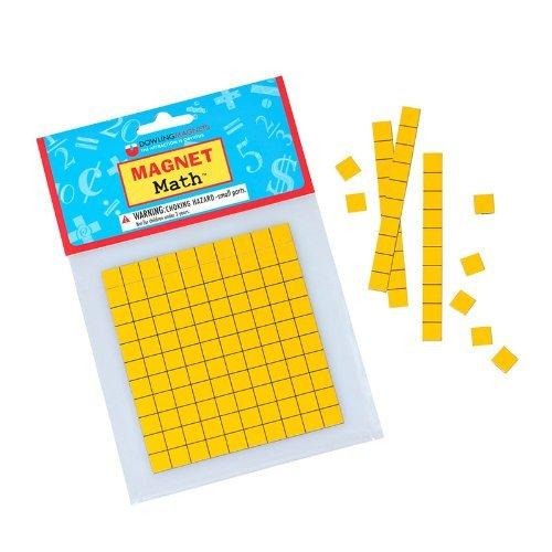 Magnetic Base Ten Kit - Grades K-3 Set of 4 Base Ten Whole Sheets