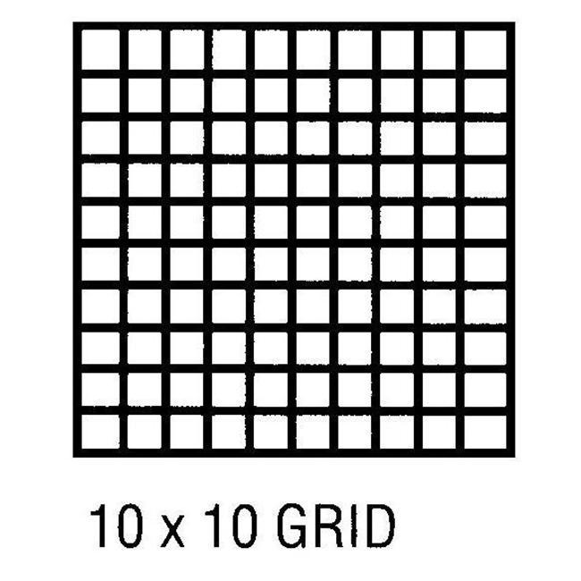 alvin cp10103130 grid vellum 24 x 20 yds 10x10