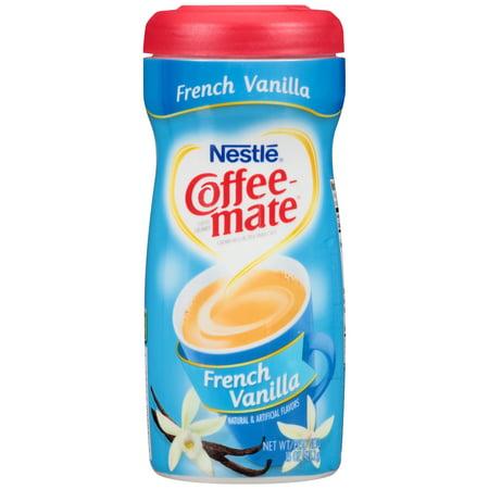 Nestl  Coffee Mate French Vanilla Coffee Creamer 15 Oz  Plastic Container