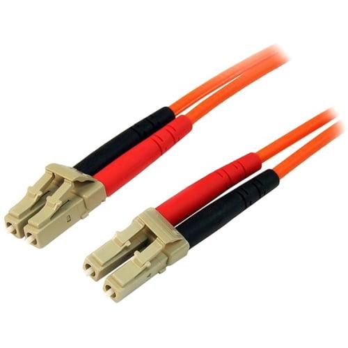 StarTech 10m Multimode Duplex 50/125 LSZH Fiber Optic Cable - LC/LC