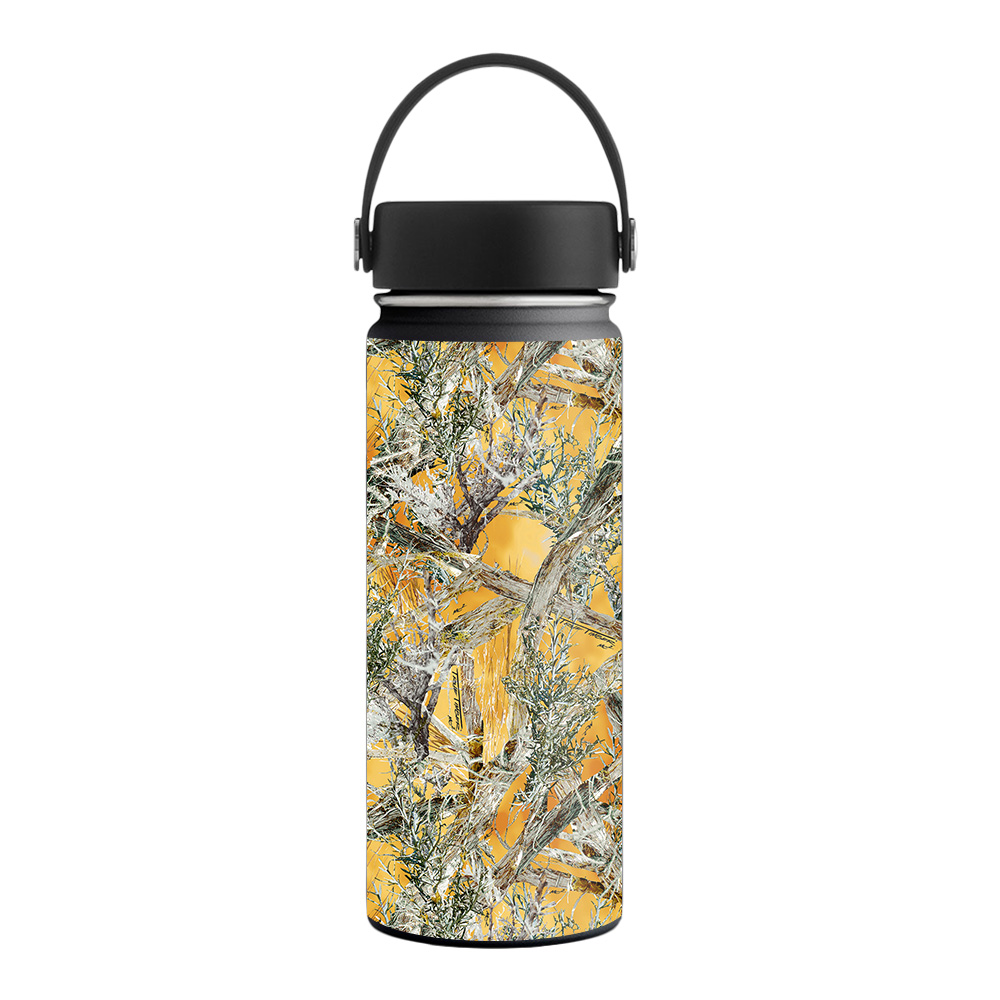 MightySkins Skin for Hydro Flask 21 oz. Standard Mouth - Artic Camo | Protective, Durable, and Unique Vinyl Decal wrap cover | Easy To Apply, Remove, and Change Styles | Made in the USA