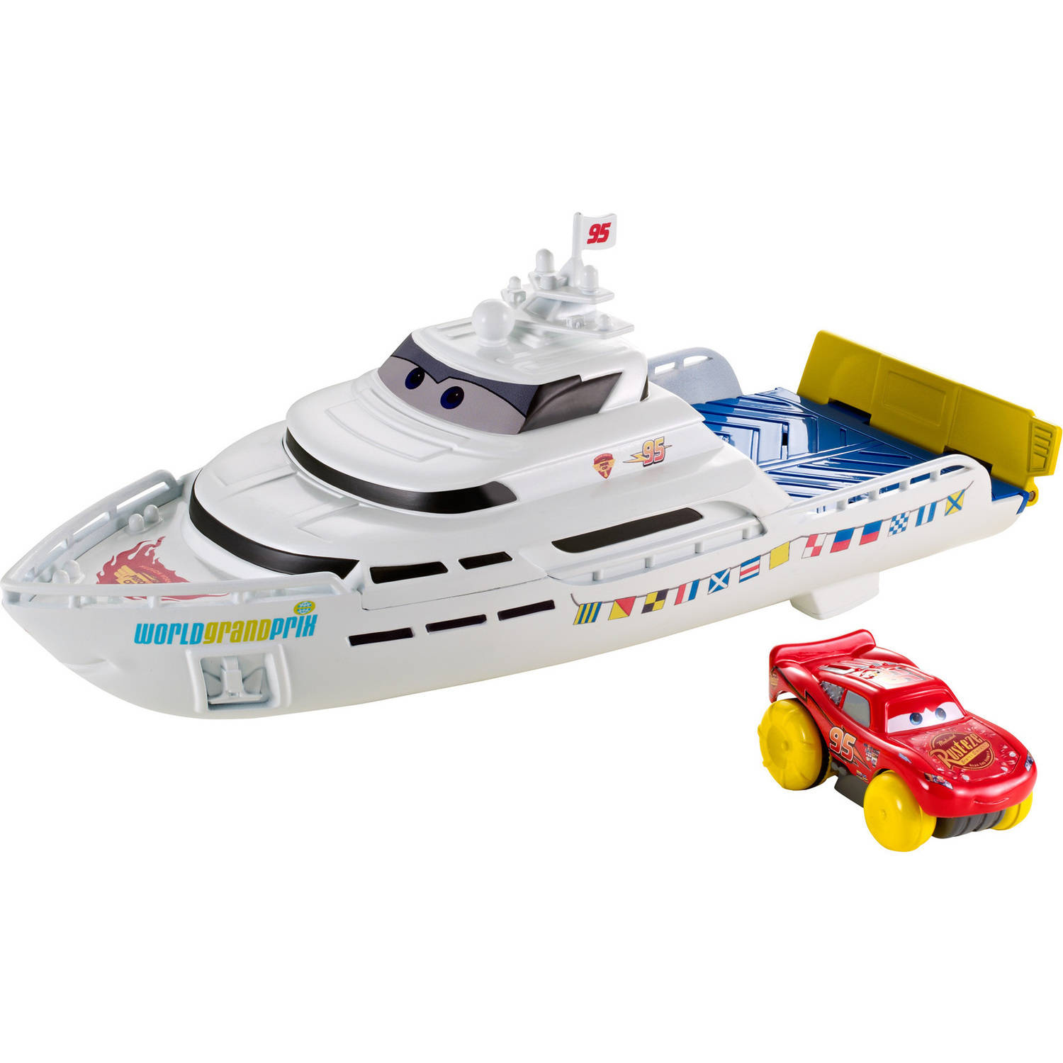 Disney Cars Porto Corsa Splash 'N' Race Boat