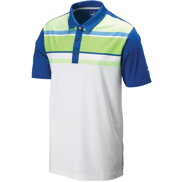Puma Golf Summer Stripe Polo Shirt 572025 Mens CLOSEOUT - Choose Color & Size!