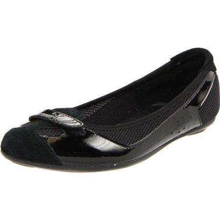 0cd3c31cbbf9 PUMA - Puma Womens Zandy Patent Mesh Trim Ballet Flats - Walmart.com