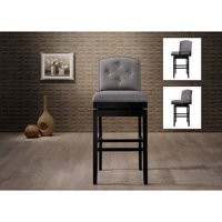 Baxton Studio Ginaro 30 in. Bar Stool Set of 2 by Overstock