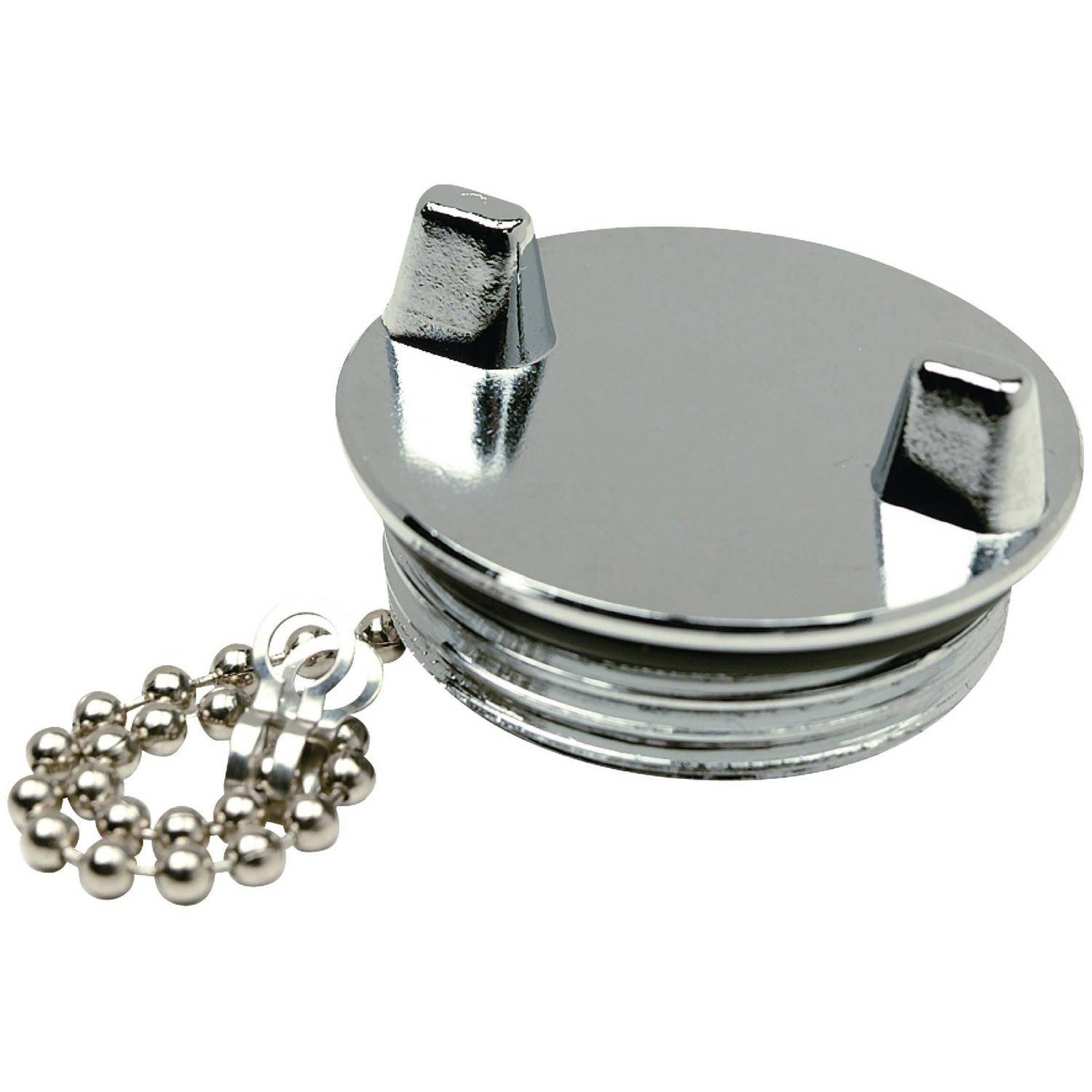 Seachoice Chrome Plated Zamak Replacement Cap For Seachoice Deck Fill 32041
