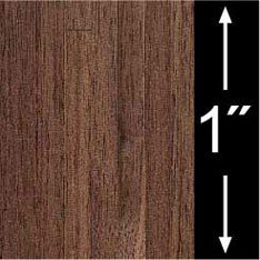 (Dollhouse 6 Pack 1/4 Scale Wallpaper: Walnut Plank Flooring)