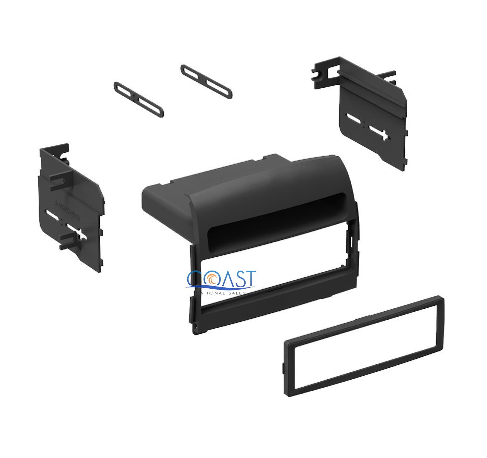 Single DIN Car Radio Stereo Dash Kit w/ pocket for 2006-2008 Hyundai Sonata