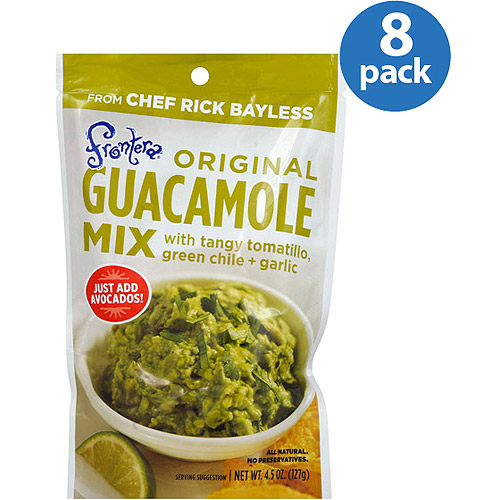 Frontera Original Guacamole Mix, 4.5 oz, (Pack of 8)