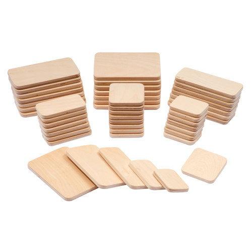 Guidecraft Multi-Use Plywood Planks (Set of 50)