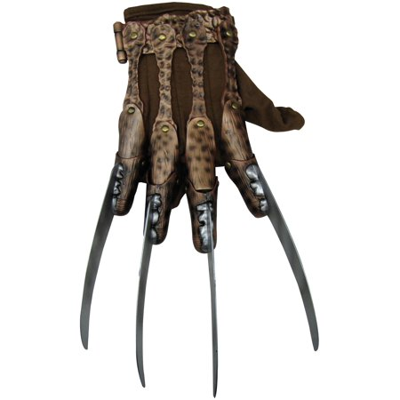 A Nightmare On Elm Street - Deluxe Freddy Glove Adult (A Nightmare On Elm Street Costume)