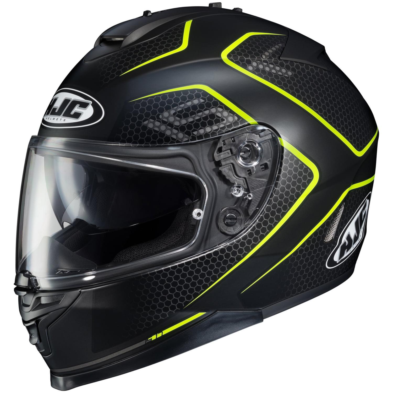 HJC Lank IS-17 Full-Face Helmet Single Shield with Pinlock Pins