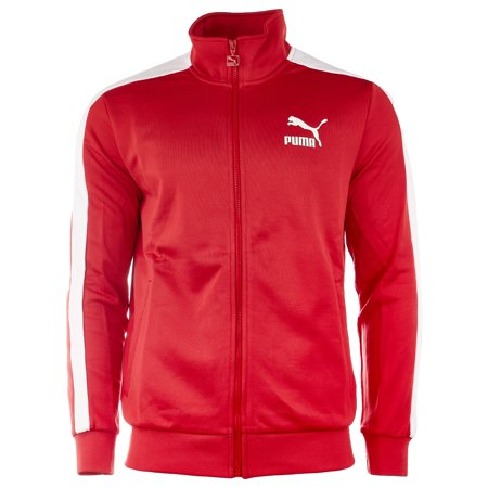 Puma Archive T7 Track Jacket - Ribbon Red - Mens - - Puma Golf Vest