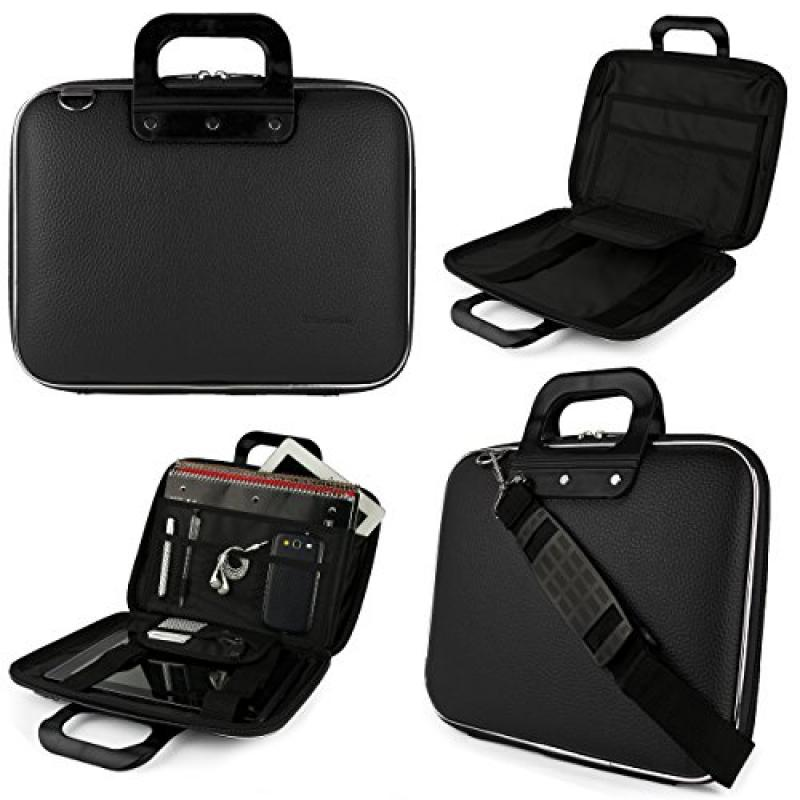 Black SumacLife Cady Semi Hard Case w/ Shoulder Strap for...