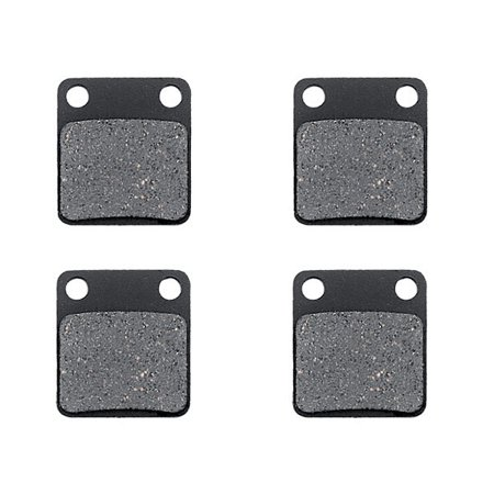 KMG Front Brake Pads for 2000-2004 Yamaha YFM 400 Big Bear 4WD Real Tree - Non-Metallic Organic NAO Brake Pads Set