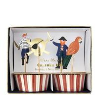 Meri Meri Pirates Bounty Cupcake Kit, 1ct