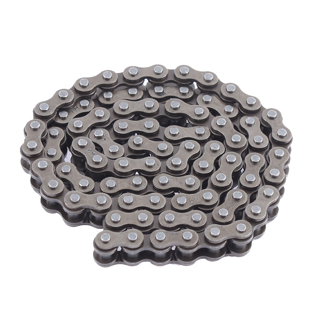 Unique BargainsMotorcycle Bike Engine 84 Link Metal O-Ringroller Drive Timing Chain Dark Gray