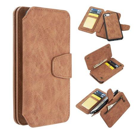 best service bbd11 9138c Iphone 8 / 7 / 6 Luxury Coach 2 Series Flip Wallet Case