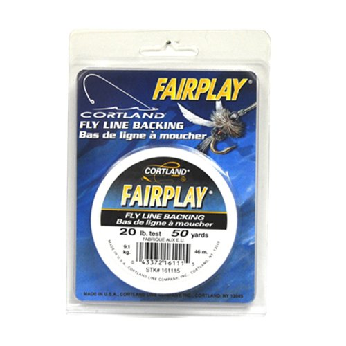 Cortland Fairplay Fly Line Backing, 50 Yards, 20 lb