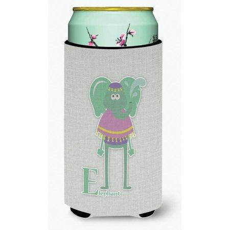 Alphabet Elephant (Alphabet E for Elephant Tall Boy Beverage Insulator Hugger BB5730TBC)