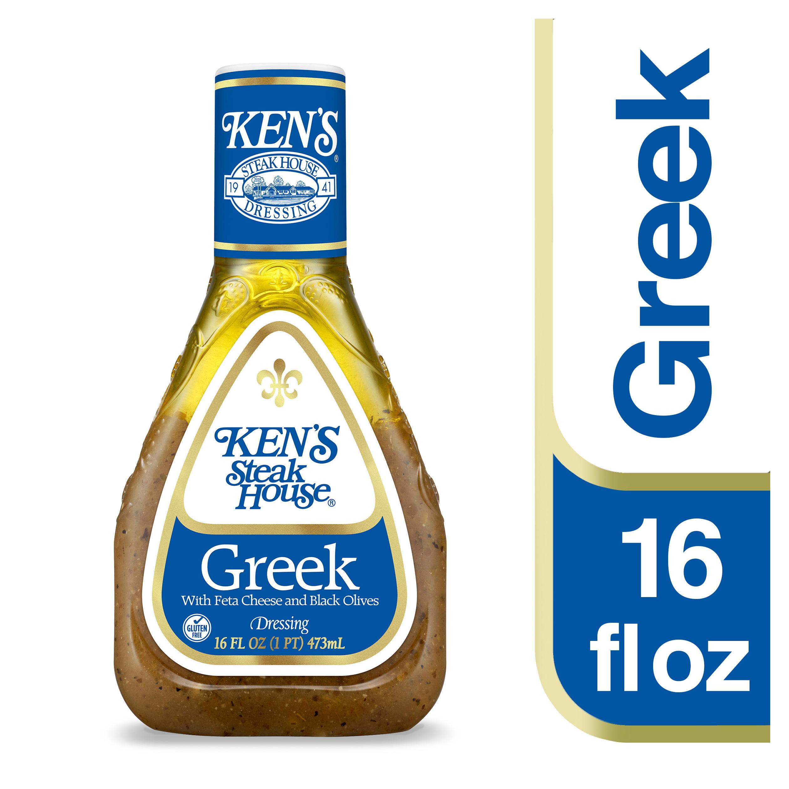 Ken's Steakhouse Dressing, Greek, 16 Fl Oz