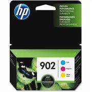 HP 902 Cyan, Magenta, Yellow Original Ink, 3 Cartridges (T0A38AN)