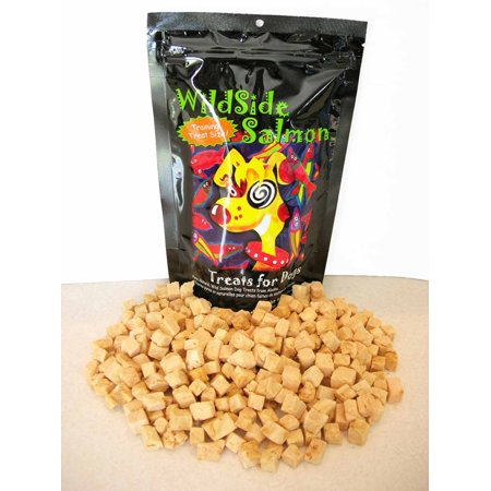 WildSide Salmon - Wild Alaskan Freeze Dried Salmon Dog Treats, 3 (Dried Bifidobacterium Animalis Fermentation Product In Dog Food)