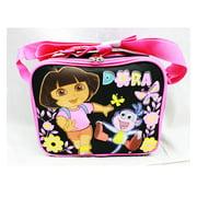 Lunch Bag - Dora the Explorer - Butterfly Black New Case Girls Licensed a02048