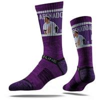 Nolan Arenado Colorado Rockies Strideline Youth Premium Player Crew Socks
