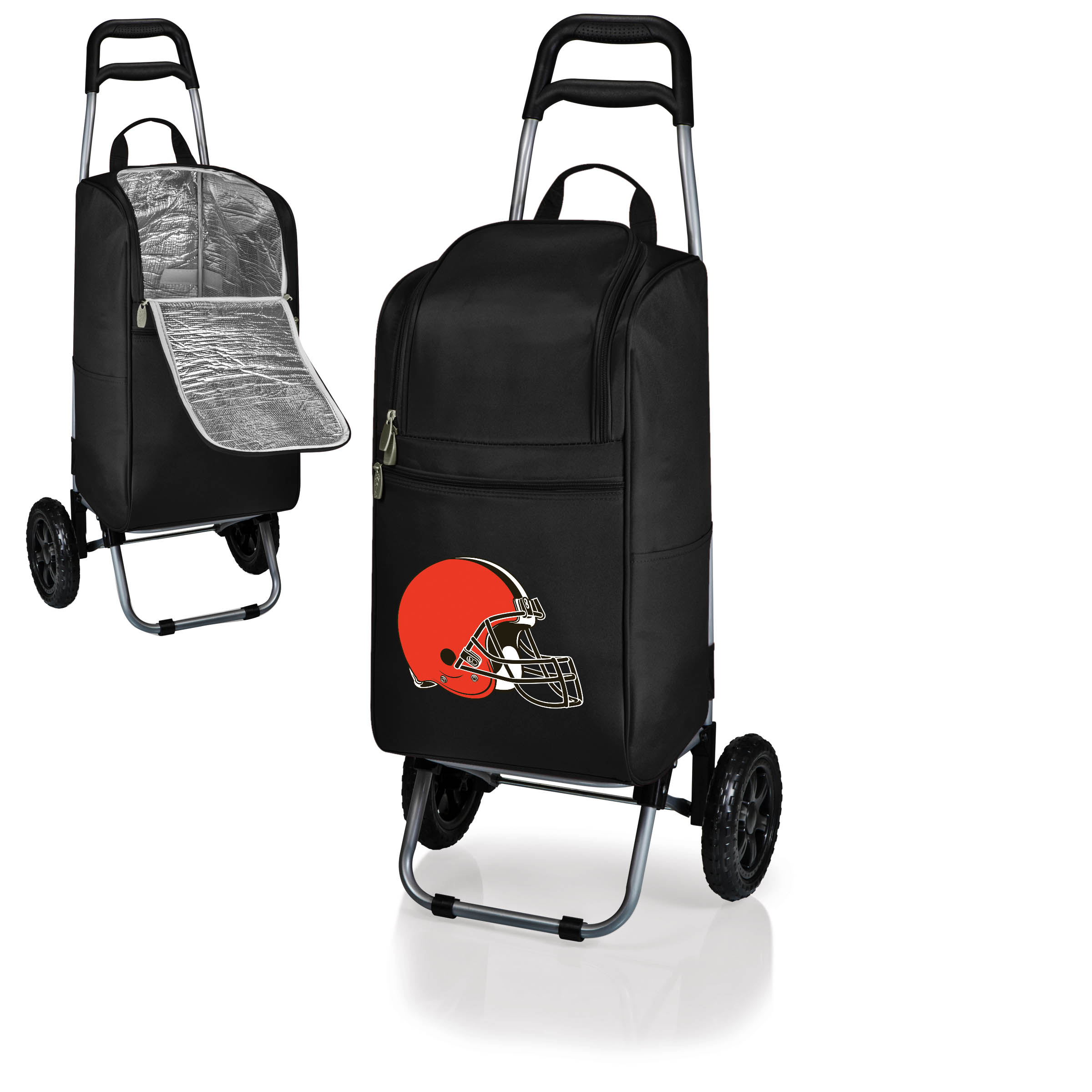 Cleveland Browns Cart Cooler - Black - No Size