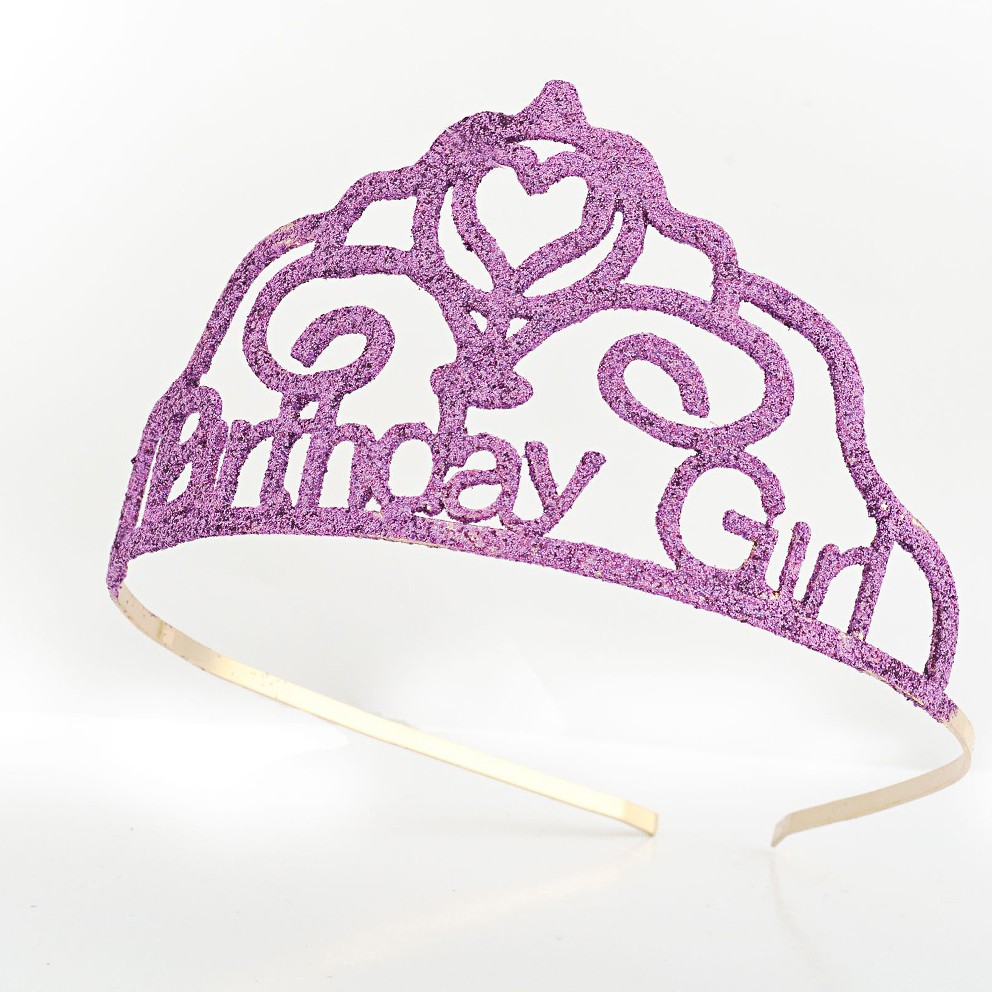 Sunnywood Birthday Darling Glitter Tiara Adult Costume Accessory