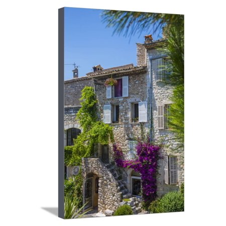 St. Paul De Vence, Alpes-Maritimes, Provence-Alpes-Cote D'Azur, French Riviera, France Stretched Canvas Print Wall Art By Jon