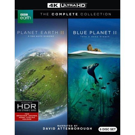 Planet Earth II/Blue Planet II (4K Ultra HD)