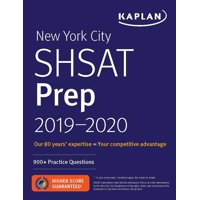 New York City SHSAT Prep 2019-2020 : 900+ Practice Questions