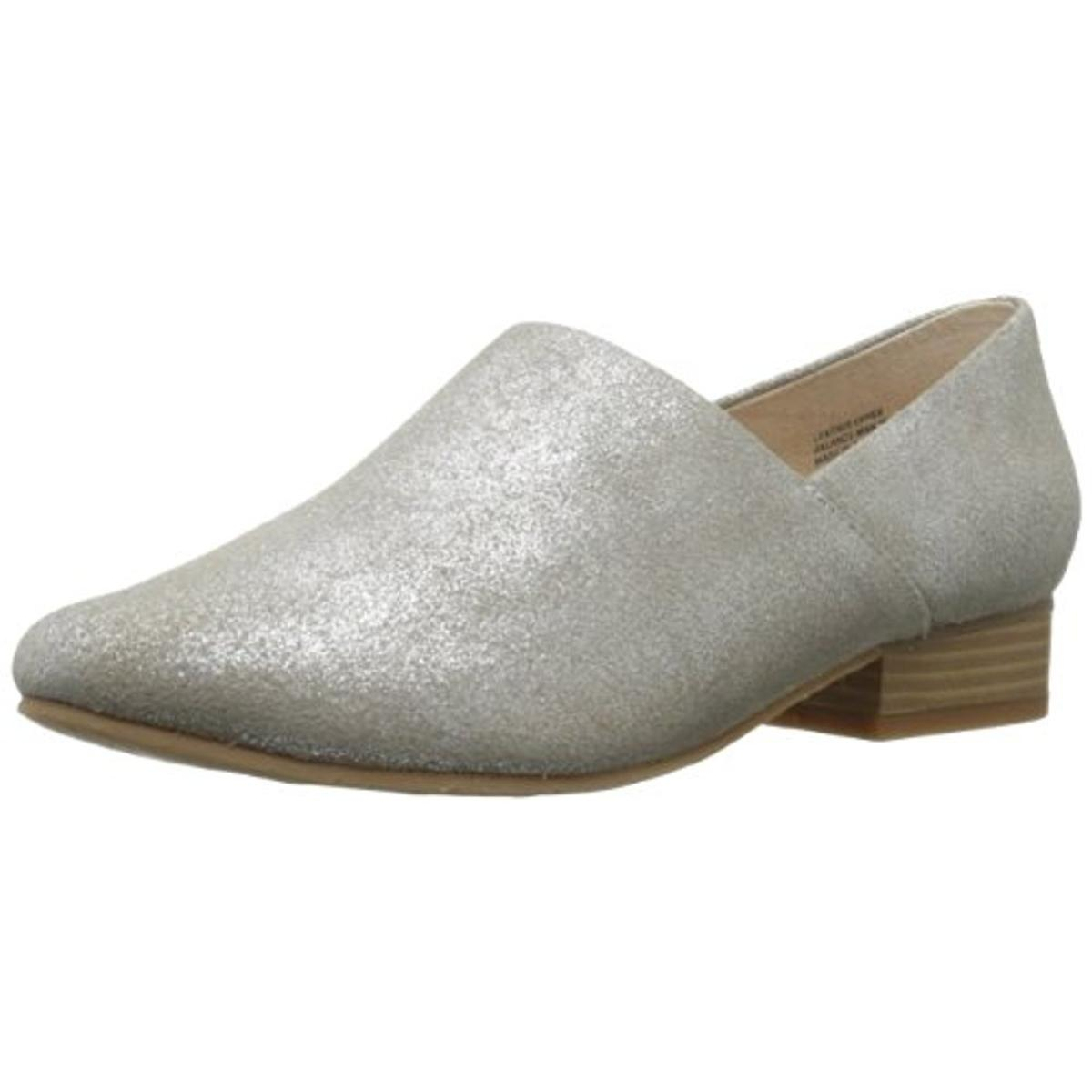 BC Footwear Womens Take A Bow Leather Round Toe Loafers