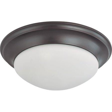 Mahogany Lock (Nuvo Lighting 63367 - 3 Light (Twist  and  Lock Base) 17