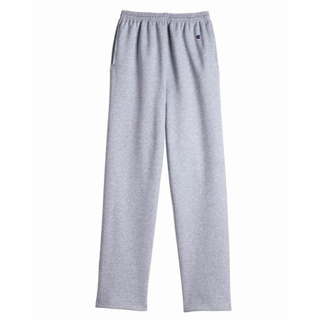 Champion Double Dry Eco Open Bottom Sweatpants with Pockets