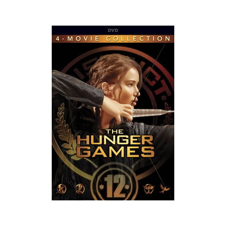The Hunger Games: The Complete 4-Film Collection (DVD) - Hunger Games Themed Games