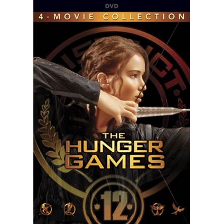 The Hunger Games: The Complete 4-Film Collection (DVD) - Halloween 4 Film Complet