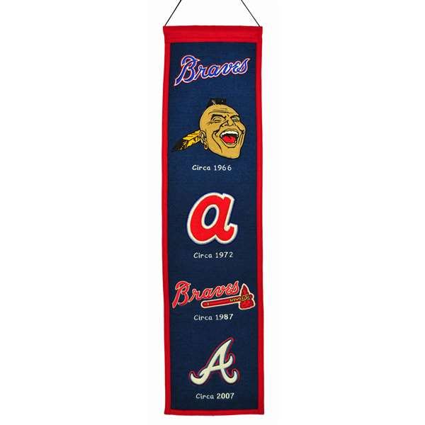 Atlanta Braves Heritage Banner