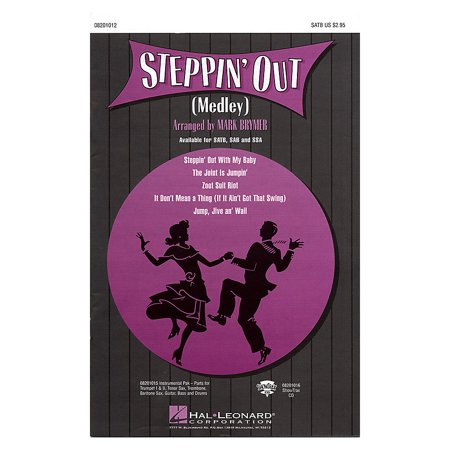 Hal Leonard Steppin' Out (Medley) Combo Parts Arranged by Mark Brymer