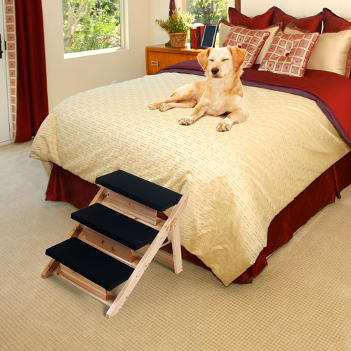 Paw Folding 2-in-1 Pet Ramp and Stairs for Dogs and Cats