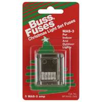 Bussman Fast Acting Holiday Light Fuse (Set of 5)