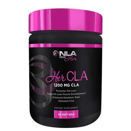 100 Mg 50 Gels - NLA for Her, Her CLA 1200 mg Weight Loss Soft Gels, 60 Ct