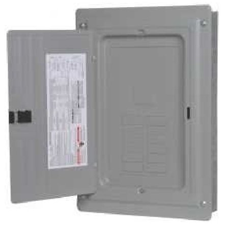 Copper Bus Bar Ratings - Siemens - P1224L1125CU- 125A - Main Lug - 1 Phase - Copper Bus - S/F Mount - 12 Space - 24 Circuit - N1 Indoor - 1P - 3W