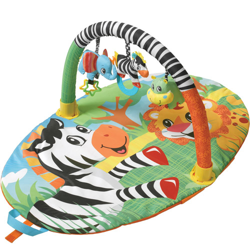 Infantino Explore & Store Gym, Jungle Buddies by Infantino