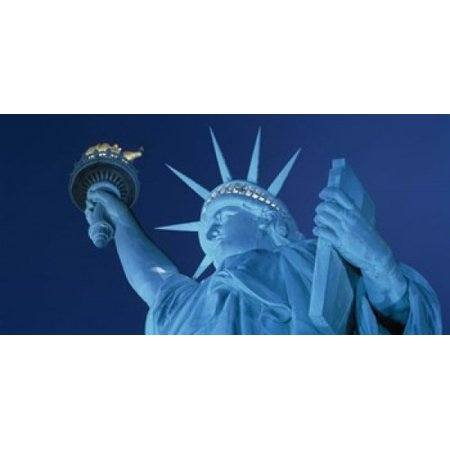 Statue of Liberty New York Poster Print by Panoramic Images (25 x 12) Statue Of Liberty Image